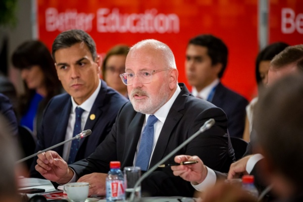 PES unites behind Timmermans as Lead Candidate for 2019