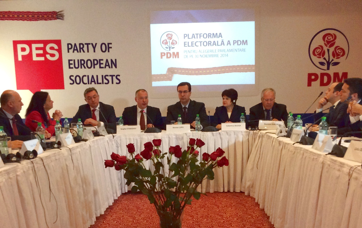 Pes President The Republic Of Moldova Is On Right Path To Succeed Into Eu Integration